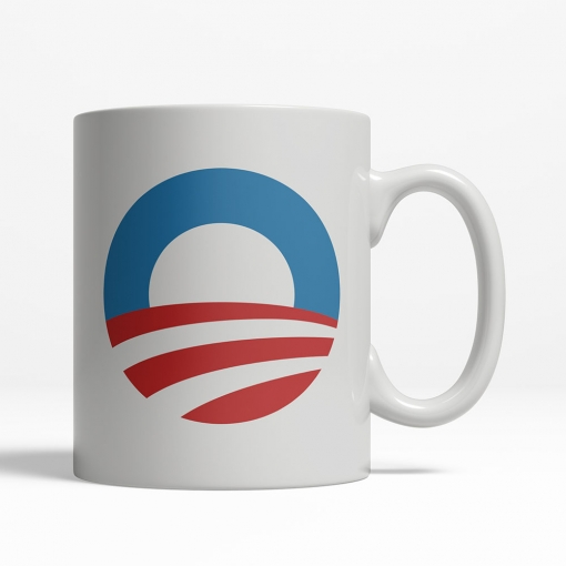 Barack Obama 2008 Coffee Cup
