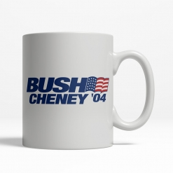 Bush Cheney '04 Coffee Cup