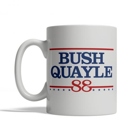 Bush Quayle '88 Mug