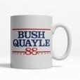 Bush Quayle '88 Coffee Cup