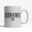 Eisenhower '52 Coffee Cup
