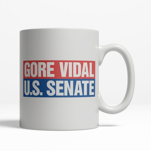Gore Vidal 1982 Coffee Cup