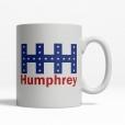 Hubert Humphrey 1968 Coffee Cup