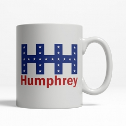 Hubert Humphrey 1968 Coffee Cup