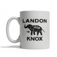 Landon Knox 1936  Mug