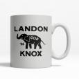 Landon Knox 1936  Coffee Cup