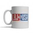 LBJ for the USA 1964 Mug