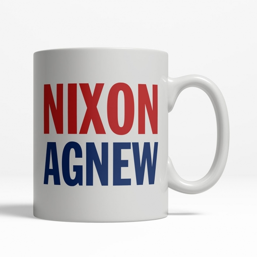 Nixon / Agnew 1968 Coffee Cup