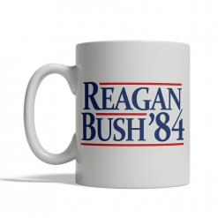 Reagan / Bush '84 Mug