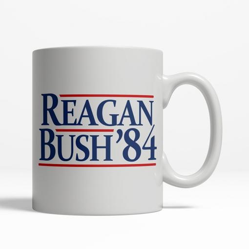 Reagan / Bush '84 Coffee Cup