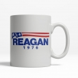 Reagan 1976 Coffee Cup