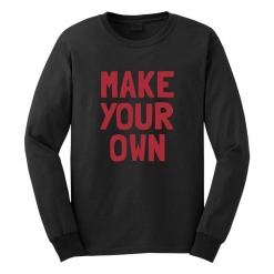 Personalized Long Sleeve T-Shirt
