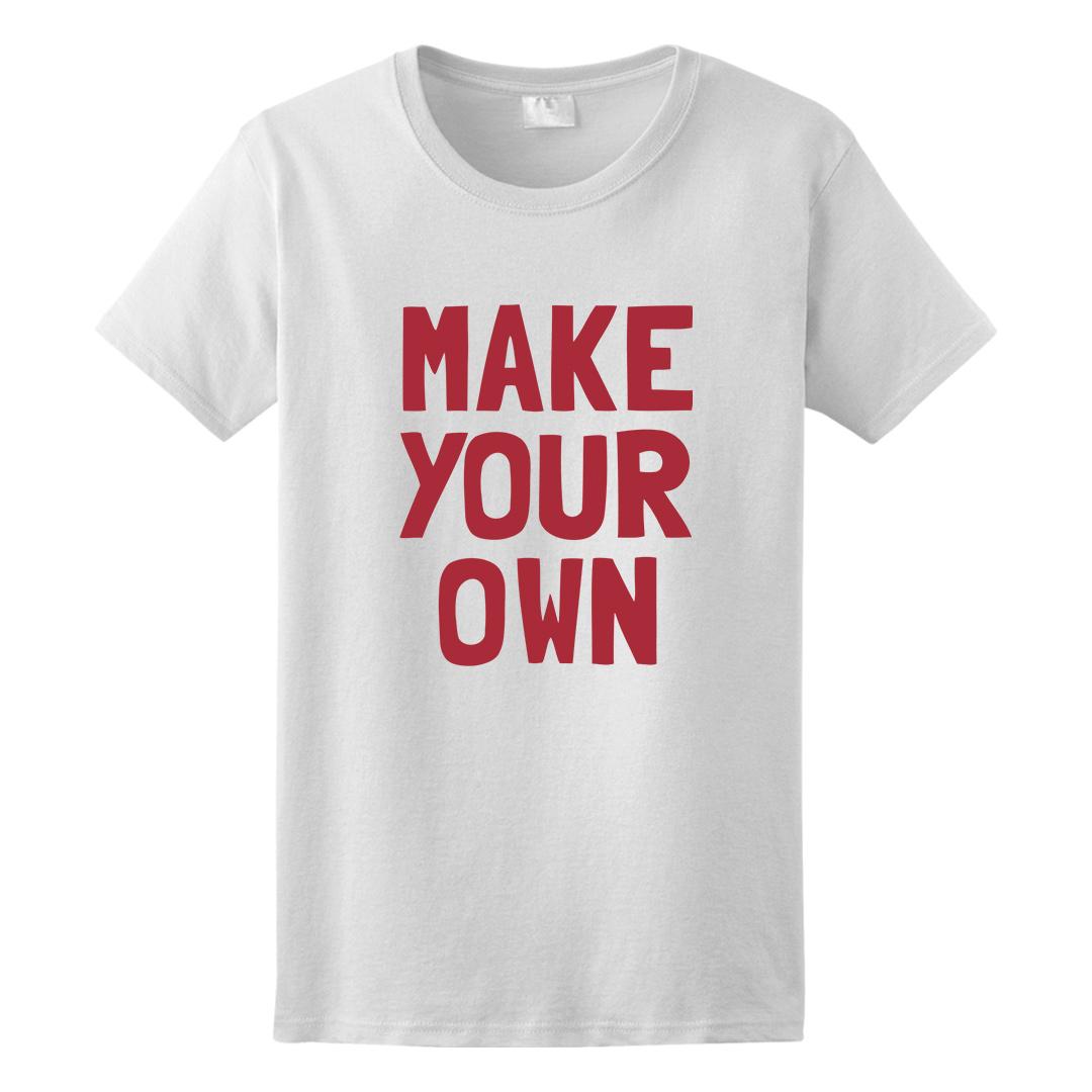 Custom Personalized Ladies T-Shirt