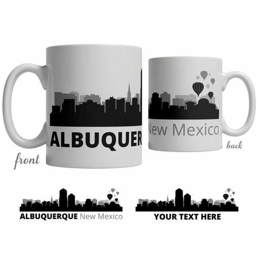 Albuquerque Skyline Coffee Mug