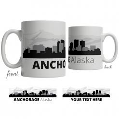 Anchorage Skyline Coffee Mug
