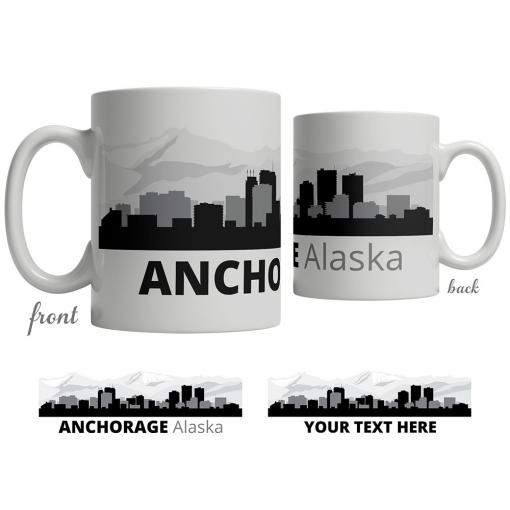 Anchorage Skyline Coffee Mug