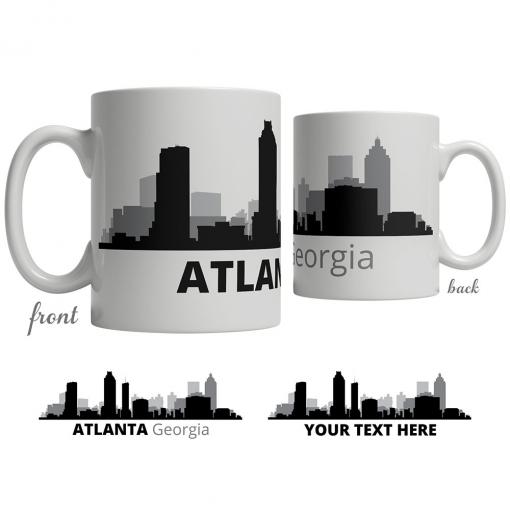 Atlanta Skyline Coffee Mug