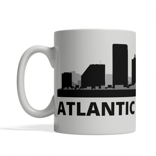 Atlantic City Personalized Coffee Cup