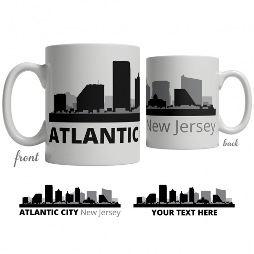 Atlantic City Skyline Coffee Mug