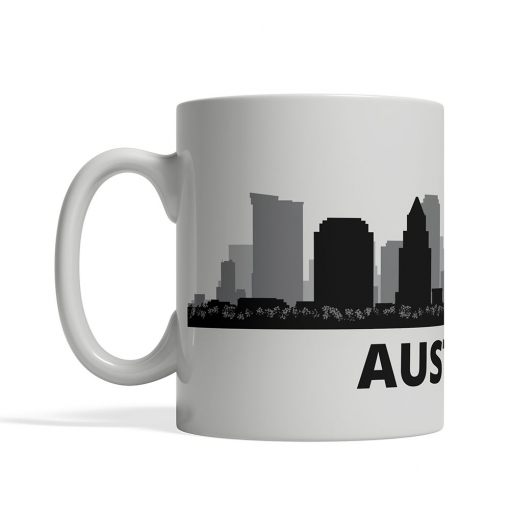 Austin Personalized Coffee Cup