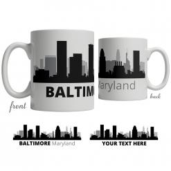 Baltimore Skyline Coffee Mug