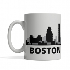 Boston Personalized Coffee Cup