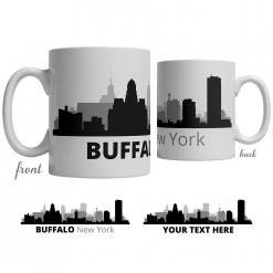 Buffalo Skyline Coffee Mug