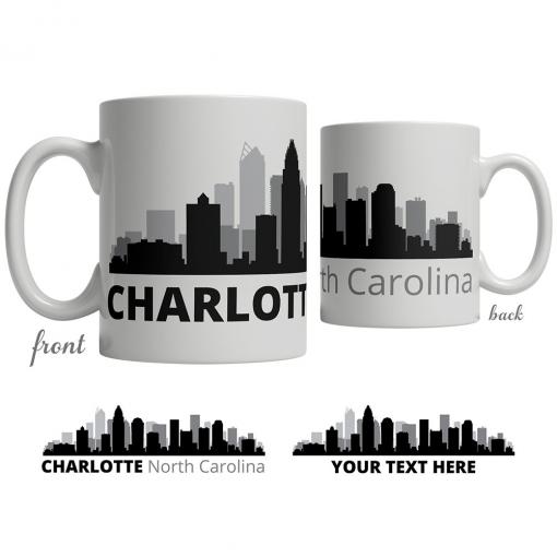 Charlotte Skyline Coffee Mug