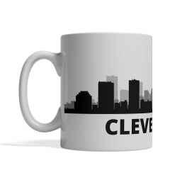 Cleveland Personalized Coffee Cup