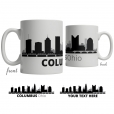 Columbus Skyline Coffee Mug