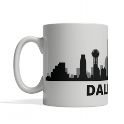 Dallas Personalized Coffee Cup
