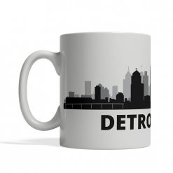 Detroit Personalized Coffee Cup