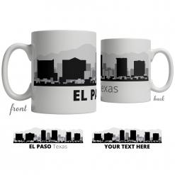 El Paso Skyline Coffee Mug