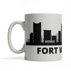 Fort Worth Personalized Coffee Cup