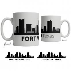 Fort Worth Skyline Coffee Mug