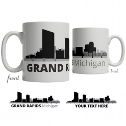Grand Rapids Skyline Coffee Mug