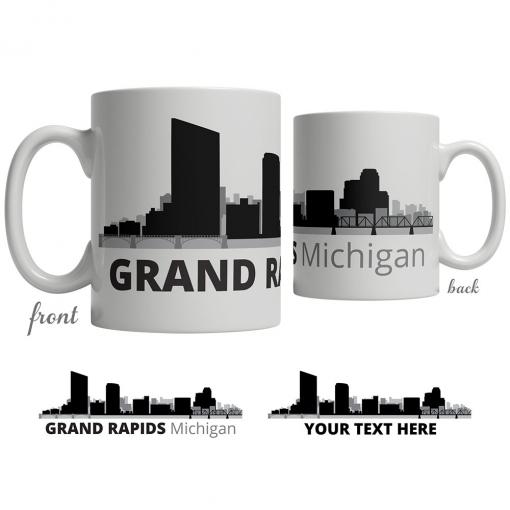 Grand Rapids Skyline Coffee Mug