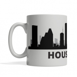 Houston Personalized Coffee Cup