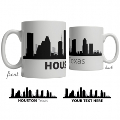 Houston Skyline Coffee Mug
