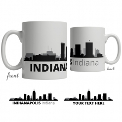 Indianapolis Skyline Coffee Mug