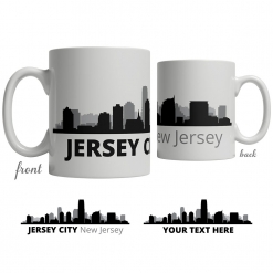 Jersey City Skyline Coffee Mug