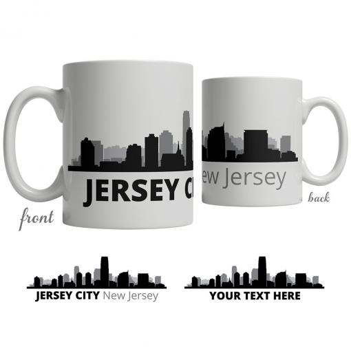 Jersey City Skyline Coffee Mug