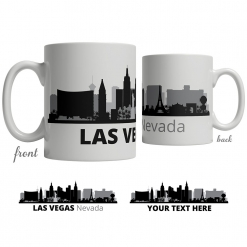 Las Vegas Skyline Coffee Mug
