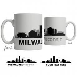 Milwaukee Skyline Coffee Mug