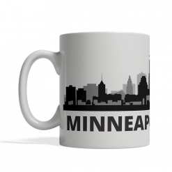 Minneapolis Personalized Coffee Cup