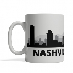 Nashville Personalized Coffee Cup
