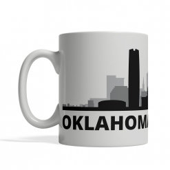 Oklahoma City Personalized Coffee Cup