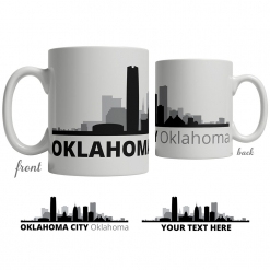 Oklahoma City Skyline Coffee Mug
