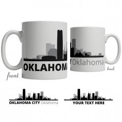 Oklahoma City Skyline Coffee Mug