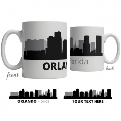 Orlando Skyline Coffee Mug